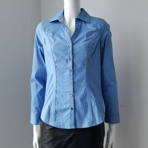 NEW Express Essential Shirt XS Blue